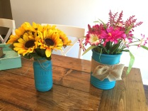 DIY Mason Jar Flower Vase
